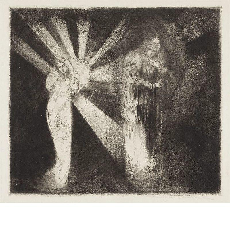 Franciszek Siedlecki, Two Stars, c1914
