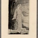 Franciszek Siedlecki, Exlibris of Jan Lorentowicz, 1905