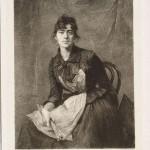 Ignacy Łopieński, Self-portrait of Anna Bilińska, 1891