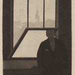 Feliks Jasiński, Self-portrait in front of a Window, 1899/1901