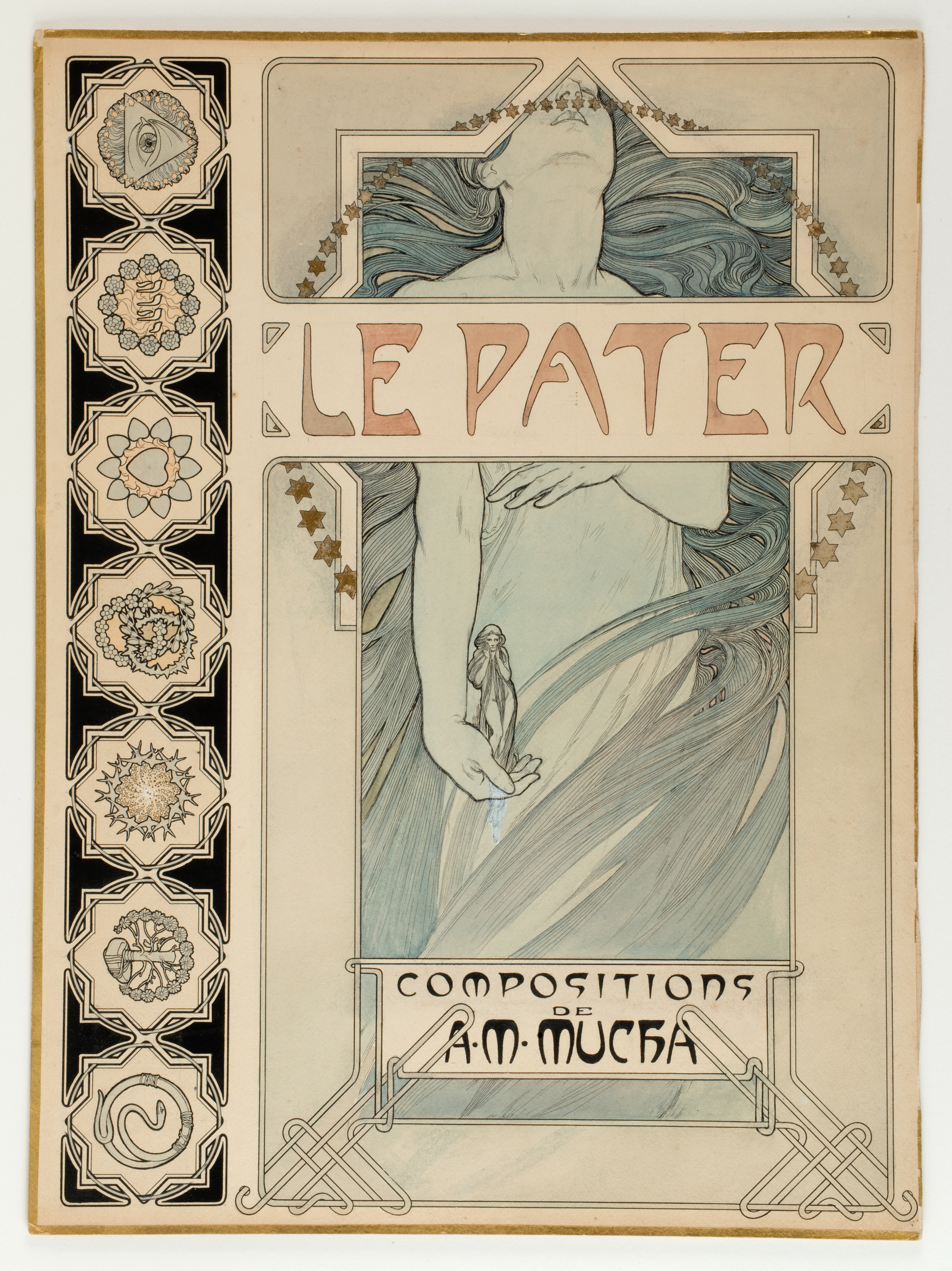 a unique collection of works by alphonse mucha donated to the museum of decorative arts in
