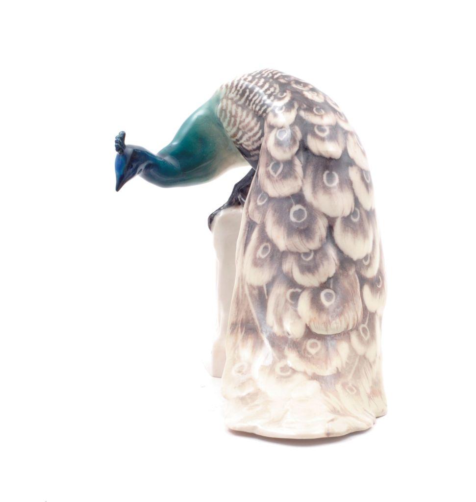 Waldemar and Karl Lindström, Figurine Peacock 1916