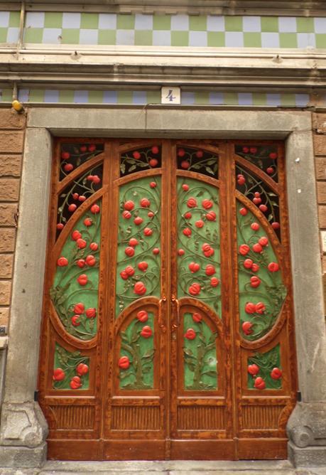 Foto di Roberta Rigazzi . Casa Bellia Via Argentero  Torino 1907